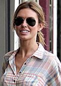 audrina patridge aviator sunglasses ray ban