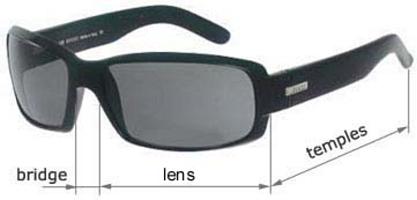 sunglasses sizes