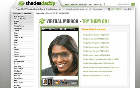 try sunglasses online