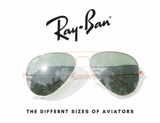 different ray ban aviator sizes