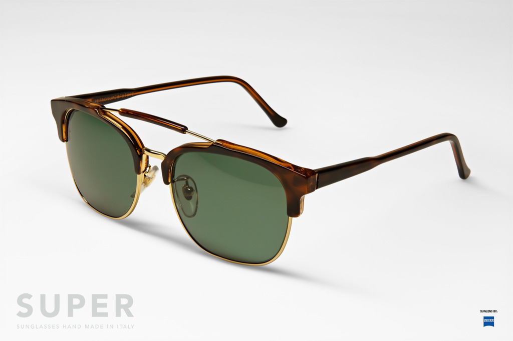 retrosuperfuture 49er classic havana sunglasses
