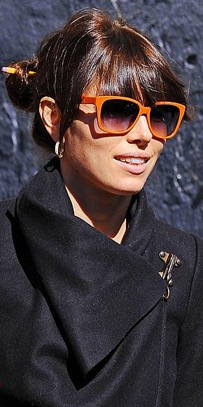 jessica biel wayfarers sunglasses