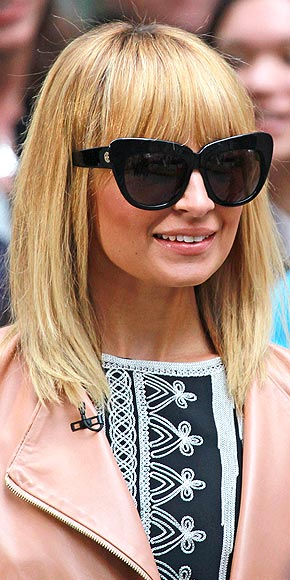 nicole richie cat eye sunglasses