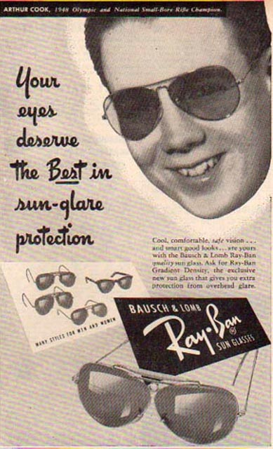 Ray Ban Bausch Amp Lomb Vintage Sunglasses Ads