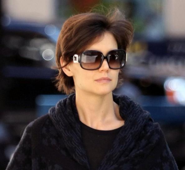 katie holmes sunglasses square oversized sunglasses