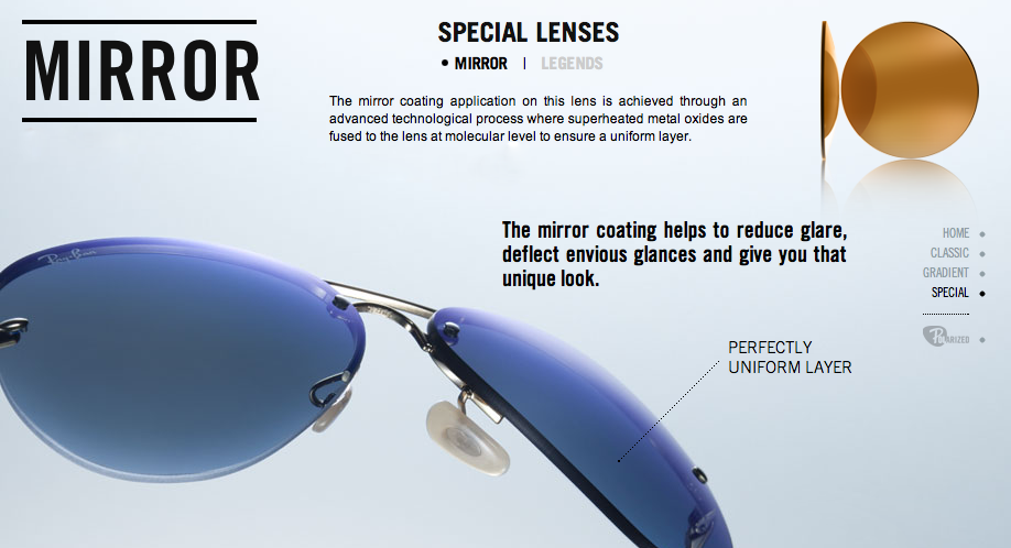 The 5 Types of Ray-Ban Sunglass Lenses