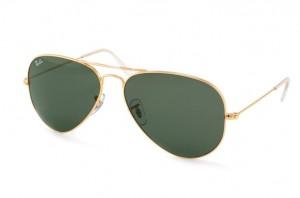 ray ban rb3025 l0205 gold aviators sunglasses