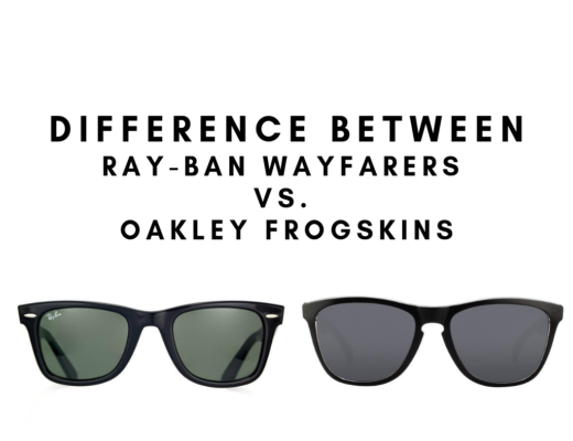 Difference Between Ray-Ban Wayfarers vs. Oakley Frogskins