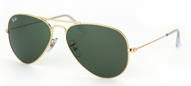 Ray Ban Aviator Sunglasses RB 3025 W3234