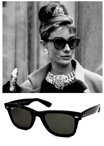 bb1bc43d7c breakfast at tiffanys audrey hepburn sunglasses wayfarers ...