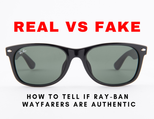 Guide to determining real vs fake ray ban sunglasses