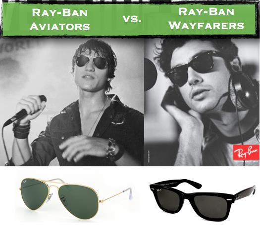 de8fb76c1a87d Comparing Ray-Ban Aviators vs. Ray-Ban Wayfarers - Sunglasses and ...