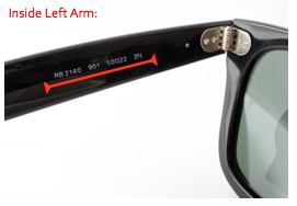 e964637088 How to Tell If Ray-Ban Wayfarers Are Authentic? - Sunglasses and ...