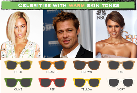 sunglasses for skin tones