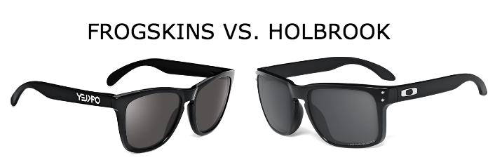 oakley frogskins vs holbrook sunglasses