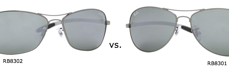 ray ban aviator vs pilot
