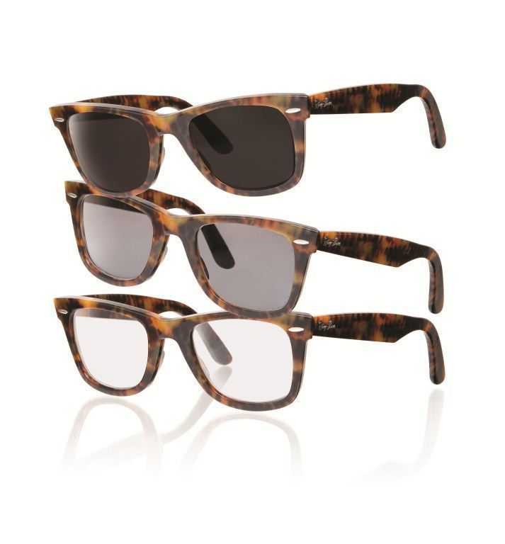 transitions lenses example ray ban wayfarers