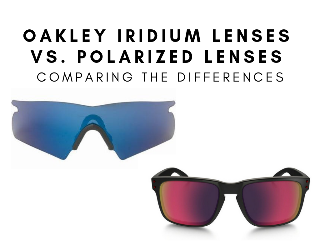 7ce521c2a3 Oakley Iridium vs Polarized