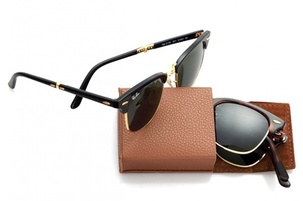 ray ban folding clubmaster sunglasses