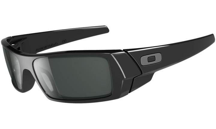 black oakley gascan sunglasses