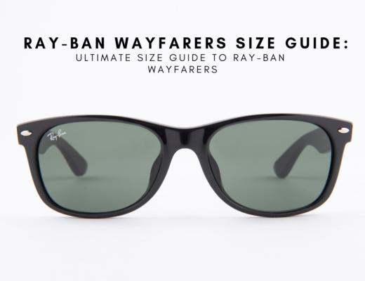 ray ban wayfarer size guide