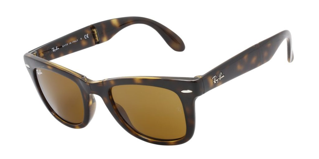 4f28c08338d Folding Ray Ban Wayfarer RB4105. tortoise ray ban sunglasses