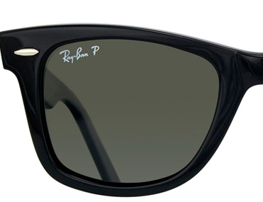ray ban p on lense