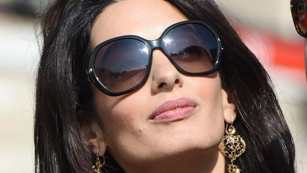 b3cc27ca3d8f9 What Sunglasses Does Amal Clooney Wear
