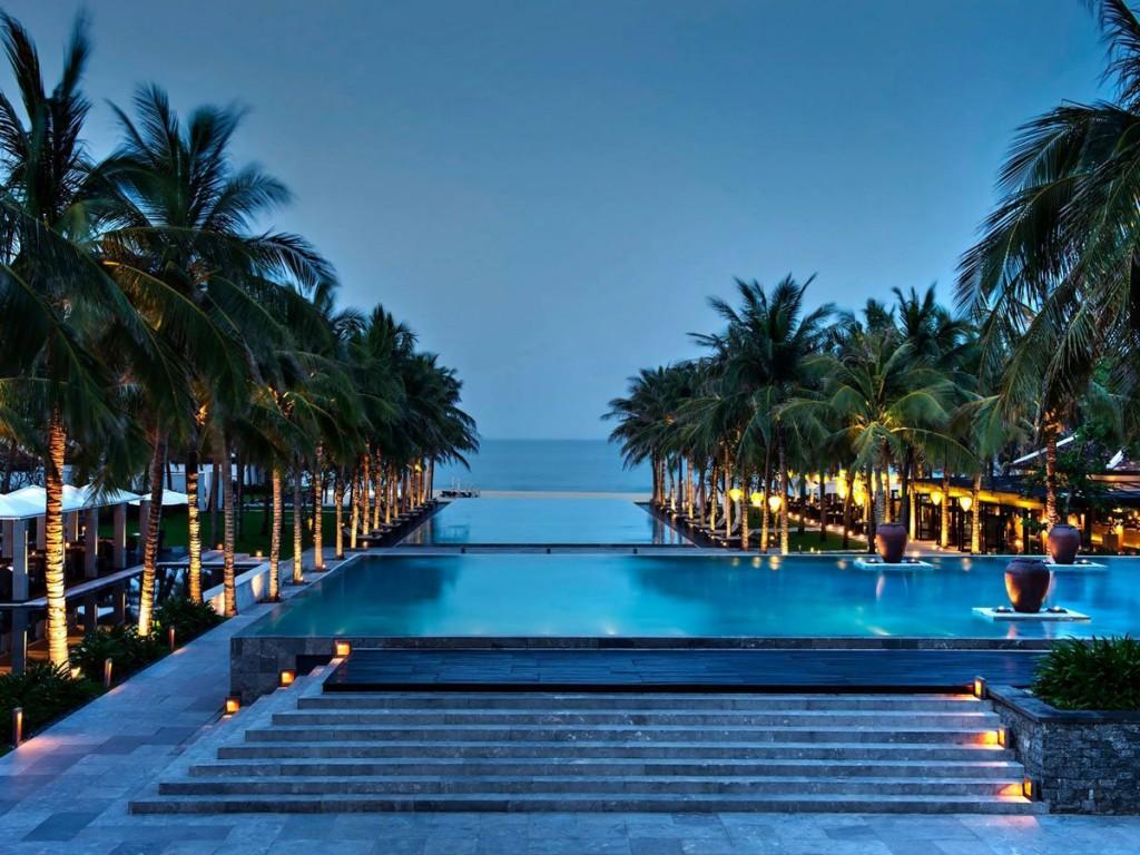 Nam Hai pool Vietnam