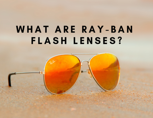 What are Ray-Ban Flash Lenses?