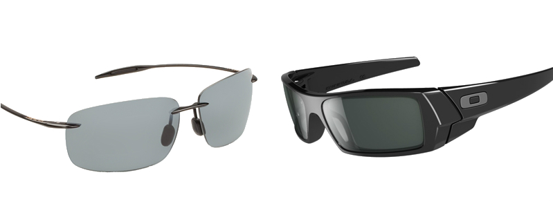 difference between oakley and maui jim sunglasses