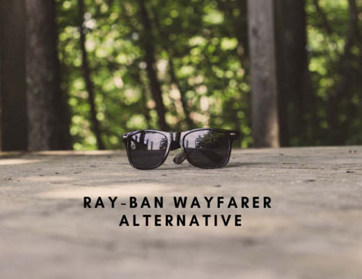 Sunglasses similar to Ray-Ban Wayfarers