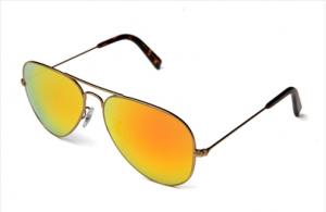 Get the style with LePaul Pilot Matte Gold Sunglasses!