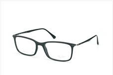 Ray-Ban RX 7031 2000 Shiny Black Eyeglasses