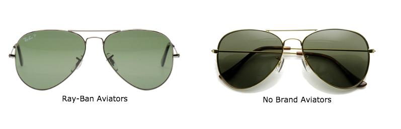 cheap vs. expensive aviator sunglasses