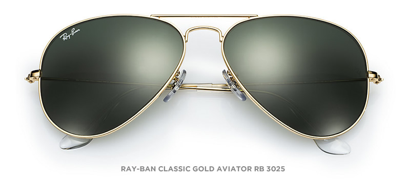 ray ban aviator sunglasses