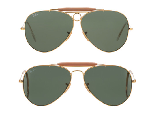 ray ban shooters vs ray ban outdoorsman