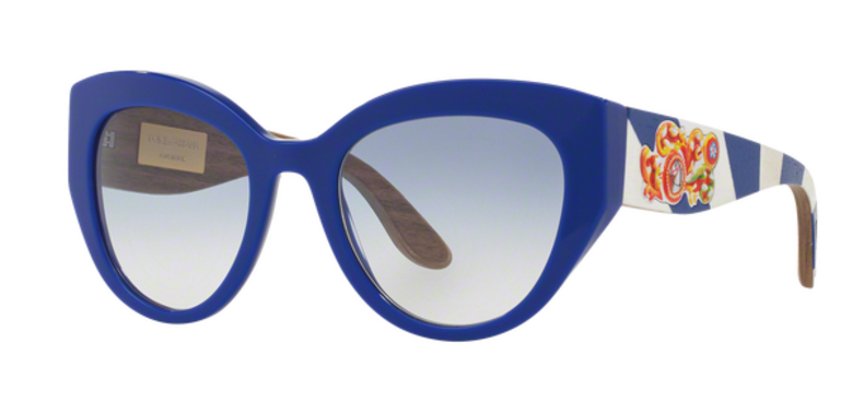 Dolce Gabbana Cat Eye DG4278 Blue Sunglasses