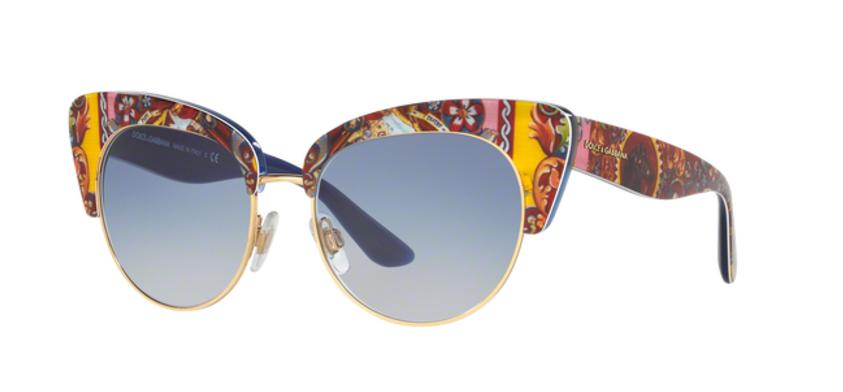 Dolce Gabbana DG4277 Blue Art Sunglasses