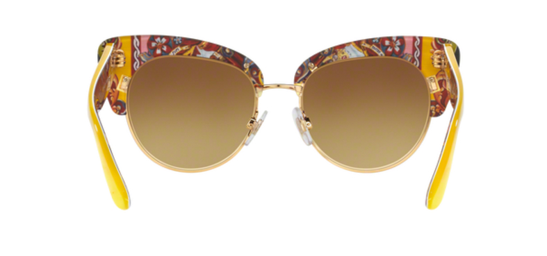 Dolce Gabbana DG4277 Yellow Sunglasses Back