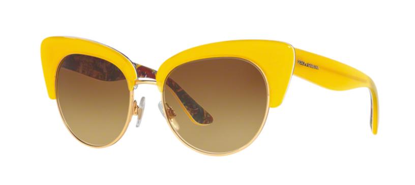 Dolce  Gabbana DG4277 Yellow Sunglasses