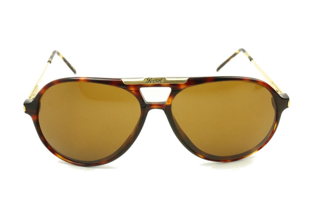persol ratti carson aviator sunglasses front