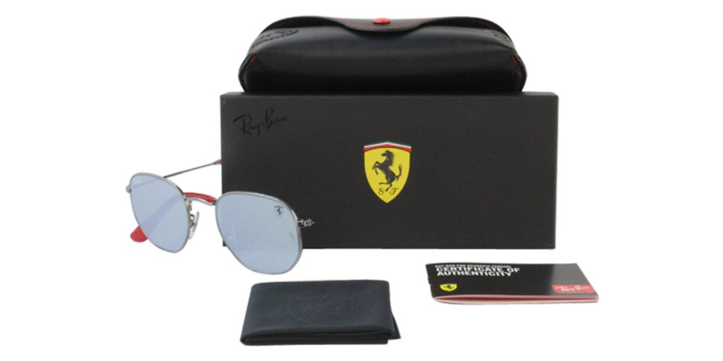 41faef5ec1 Ray-Ban Ferrari Sunglasses Collection - featuring Sebastian Vettel ...