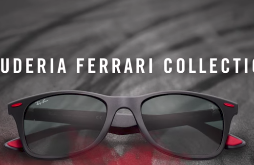 ray-ban ferrari collection