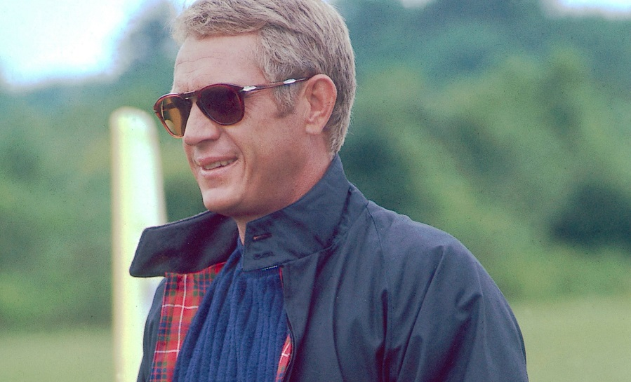 9933abe6b07b steve-mcqueen wearing persol sunglasses - Sunglasses and Style Blog ...