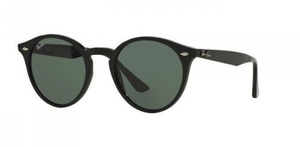 RAY BAN 2180 601/71 BLACK SUNGLASSES