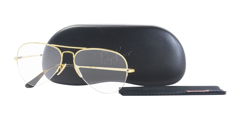 1c66071b408 Ray-Ban Rx 6589 Aviator Gaze Prescription Glasses Review ...