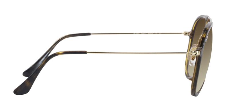 Ray Ban RB4298 Tortoise Gold / Brown Lens Sunglasses