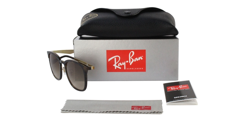 Ray Ban RB4278 Tortoise / Brown Lens Sunglasses