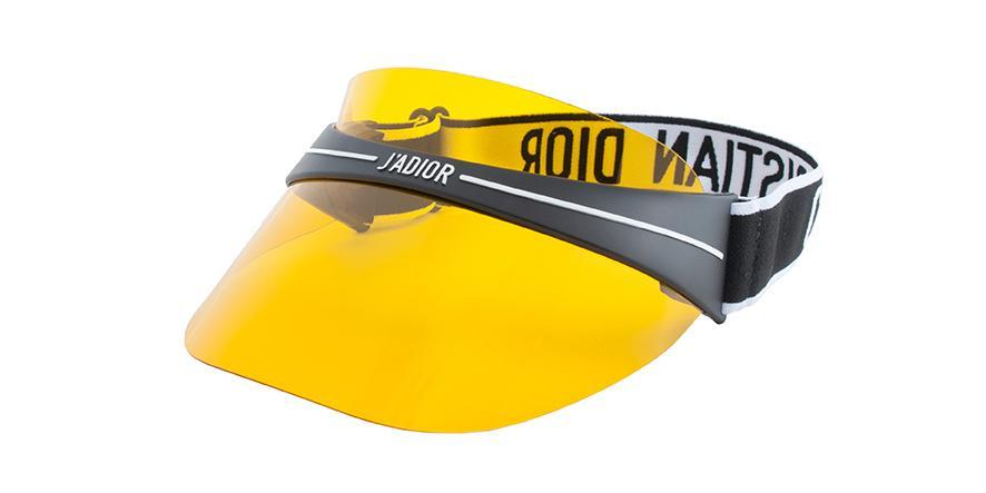 dior club1 visor yellow